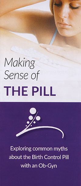 Common sense about the Birth Control Pill from an Obstetrician-Gynecologist with many years' experience.